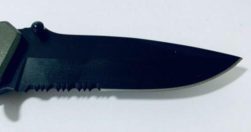 tactical knife 3 inches 3mm thick steel