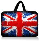 "UK Flag 13"" Laptop Sleeve Handle Bag Pouch For 13.3 Inch HP"