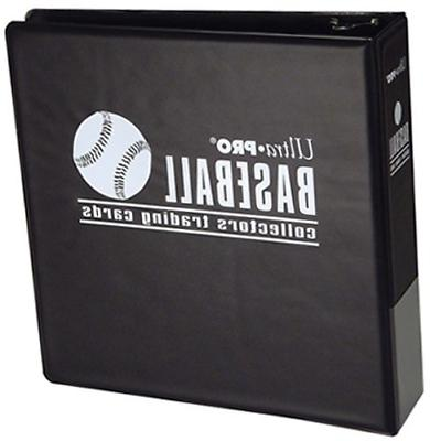 ultra pro 3 inch baseball album blue