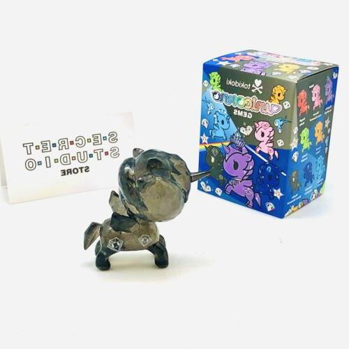 Tokidoki Unicorno Gems Vinyl Figure Diamond Box Pamphlet