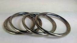 Lot of 5 -  3 Inch Heavy Welded O-Ring