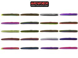 Roboworm NED Worm 3 Inch **CHOOSE COLOR**