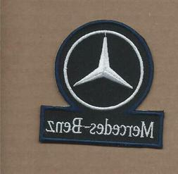 NEW 3 INCH MERCEDES BENZ CAR IRON ON PATCH FREE SHIPPING E1