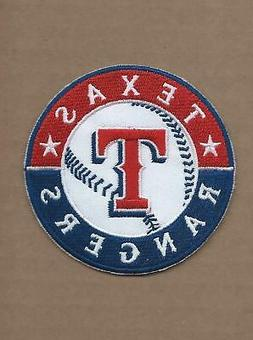 NEW 3 INCH TEXAS RANGERS IRON ON PATCH FREE SHIPPING P1