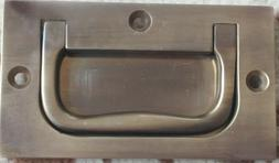 """NEW ANTIQUE BRASS 3"""" INCH wide FLUSH CABINET DRAWER PULL"""