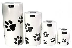 Pawvacs Set of 4  Vacuum Sealed Pet Food Storage Containers;