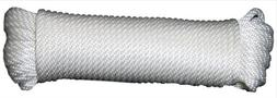 T.W. Evans Cordage 44-125 .375 in. x 50 ft. Solid Braid Nylo