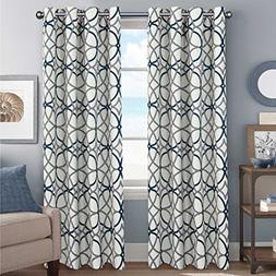 H.VERSAILTEX Thermal Insulated Blackout Curtains Grommet Top