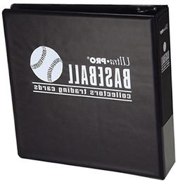 Ultra Pro 3 inch Baseball Album Blue Black Card New Albumbla